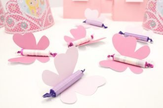 How to Make Butterfly Party Favours