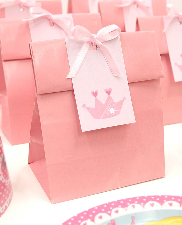 Pink Princess Party Bags