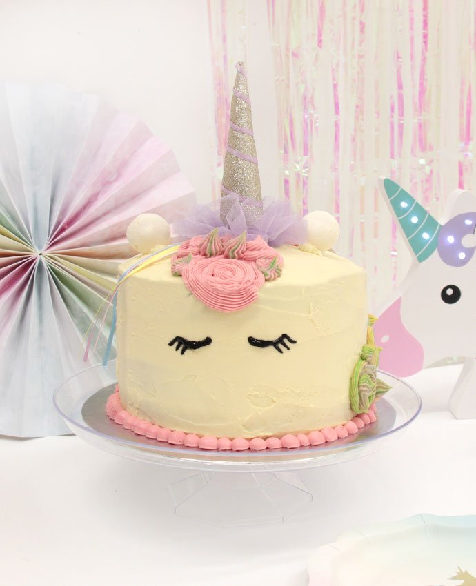 Follow Our Step By Tutorial To Find Out What Do And Then Top Your Cake Off With A Unicorn Horn Party Hat