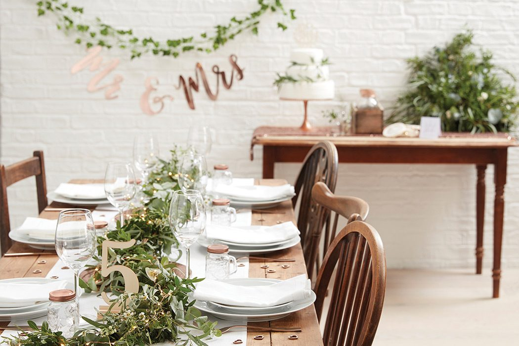 Botanical Wedding Theme Ideas
