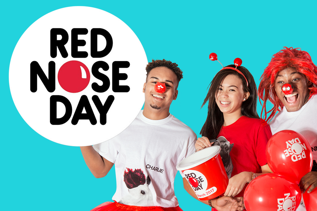 Easy Office Fundraising Ideas for Red Nose Day 2017