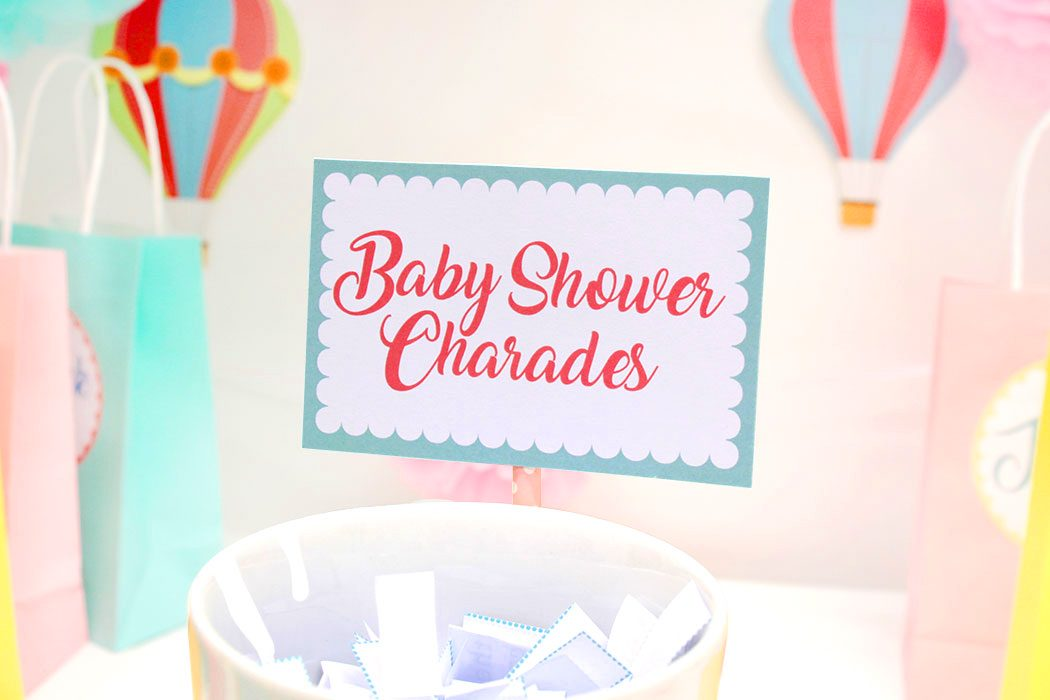 image about Charades Printable referred to as Totally free Printable Child Shower Charades Sport Celebration Delights Web site