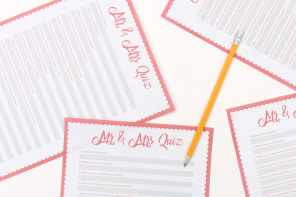Free Printable Mr & Mrs Quiz