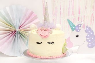 How to Make a Unicorn Piñata Cake