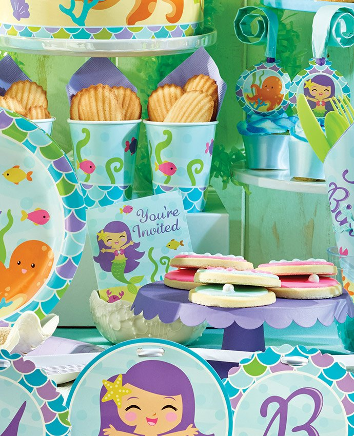 Mermaid Party Food Ideas