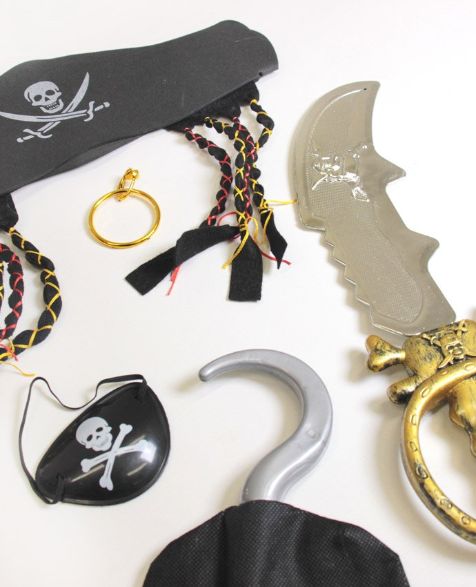 Pirate Fancy Dress Accessories