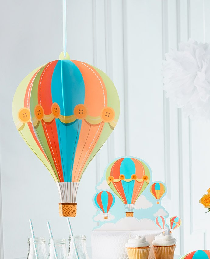 Hot Air Balloon 1st Birthday Party Ideas Party Delights Blog