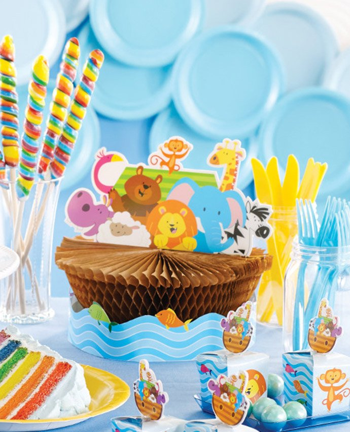 Noah S Ark Baby Shower Ideas Party Delights Blog