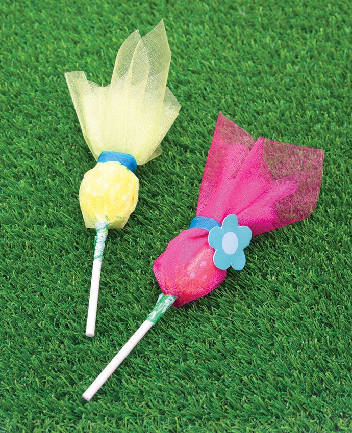 Easy DIY Trolls Lollipops