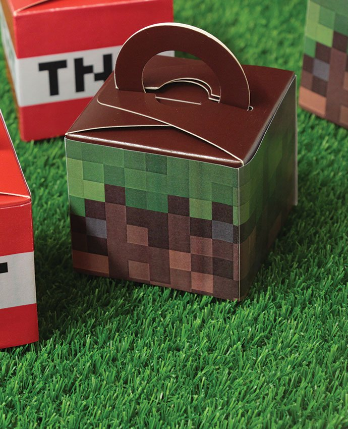 Pixellated Gaming Party Favours
