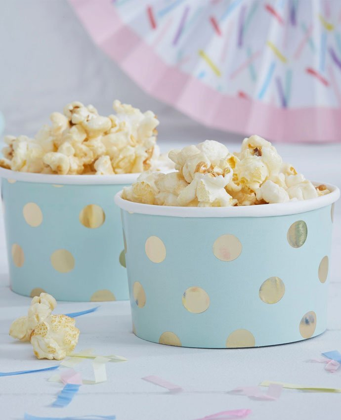 Gold Polka Dot Treat Tubs