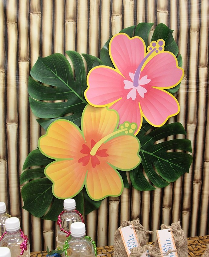 Hibiscus Flower Decorations