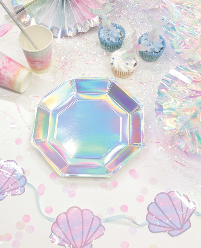 Iridescent Mermaid Party Supplies