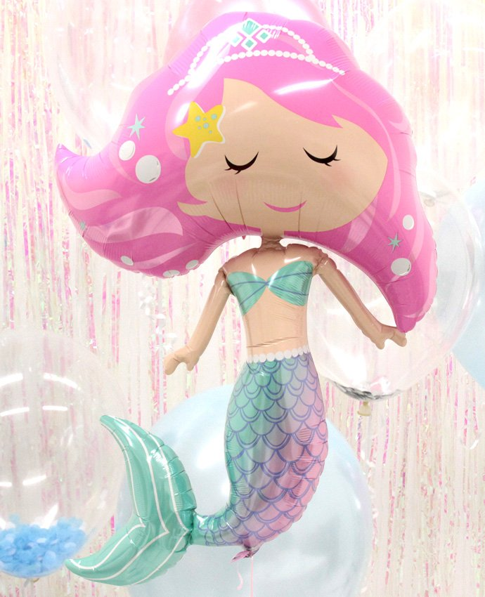 Large Mermaid Balloon