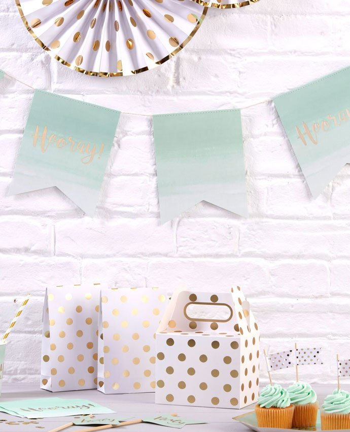 Mint Green Hooray Bunting