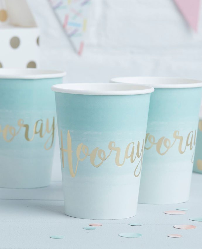 Mint Green Party Cups