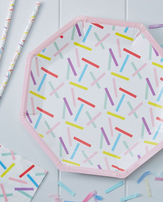 Sprinkles Party Plates