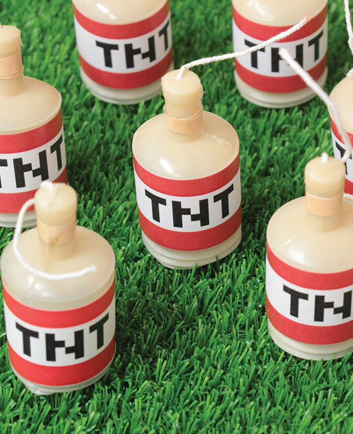 DIY TNT Party Poppers