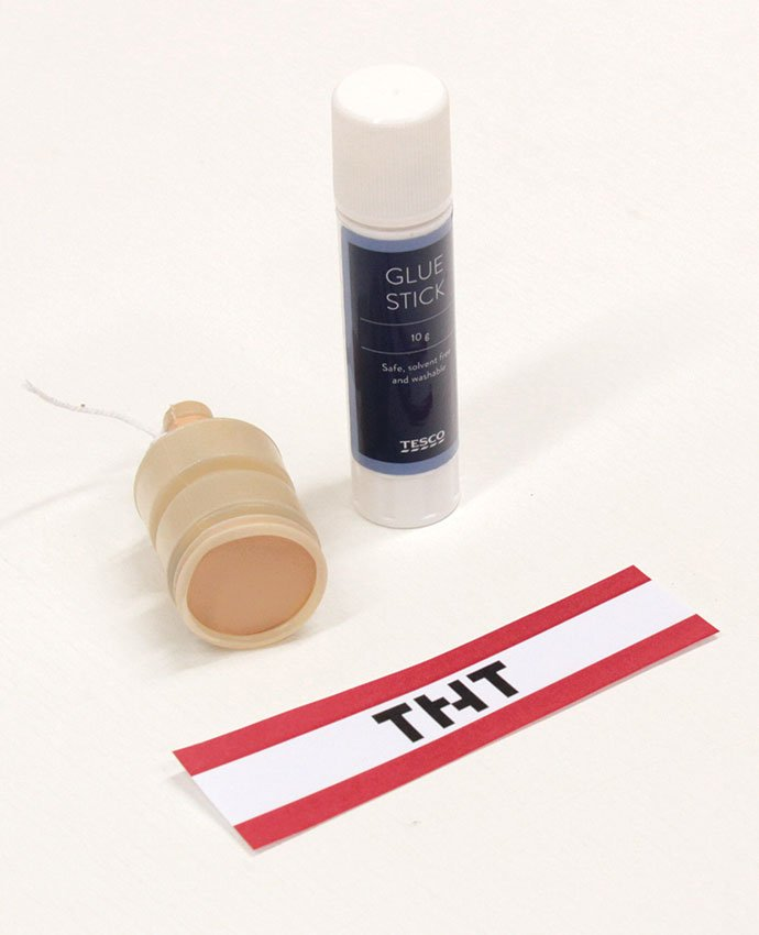 TNT Party Poppers - What You Need