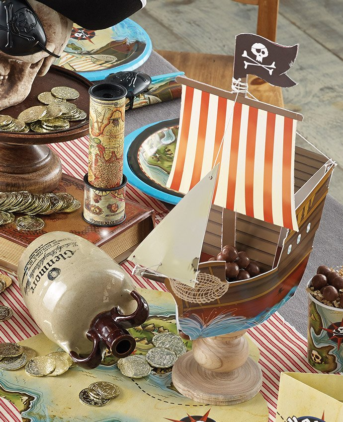 Pirate Ship Centrepiece