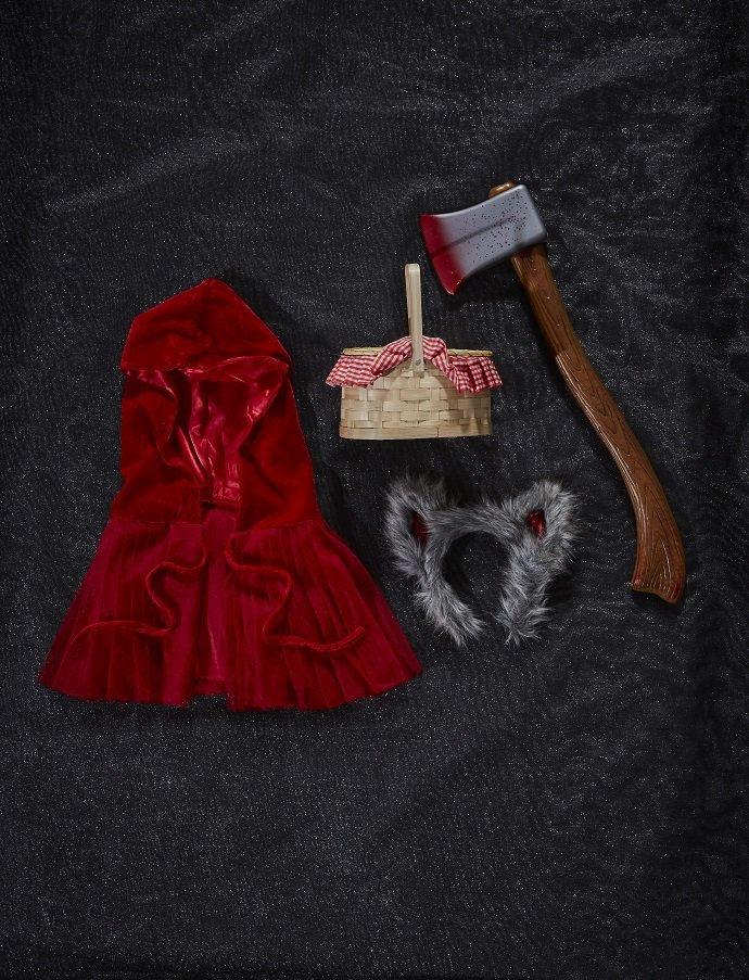 Make Your Own Little Red Riding Hood Costume Party Delights Blog