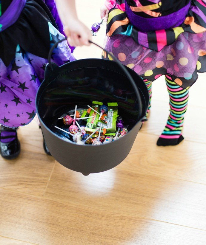 Trick or Treat Bucket