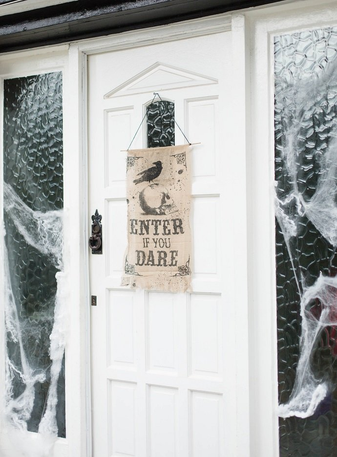 Enter If You Dare Door Sign for Halloween