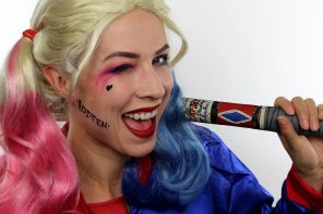 Harley Quinn Make-Up Tutorial