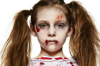 Kids Zombie Cheerleader Costume