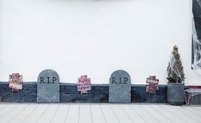 Tombstone Decorations