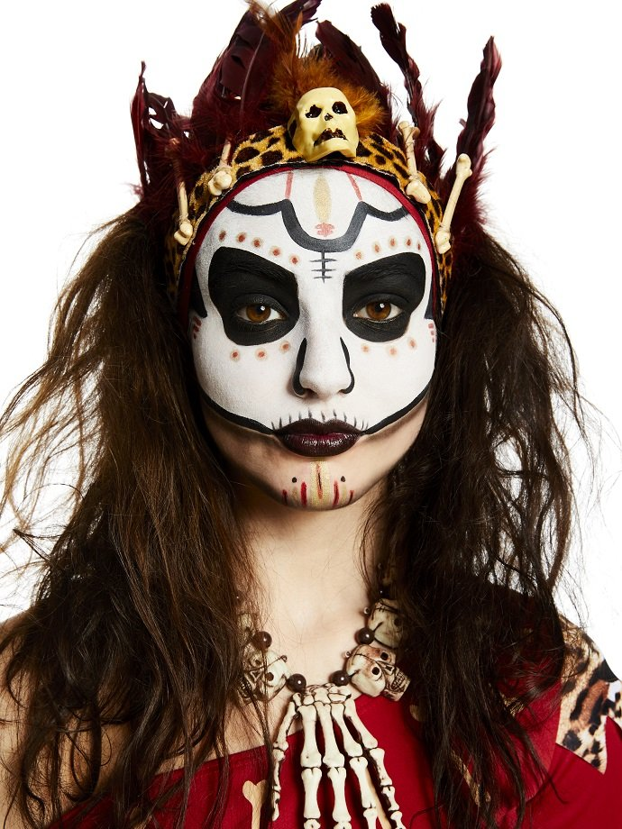 Witch Doctor Face Paint