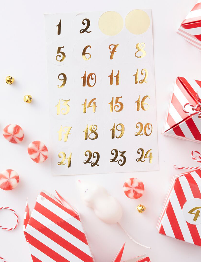 Advent Calendar Stickers