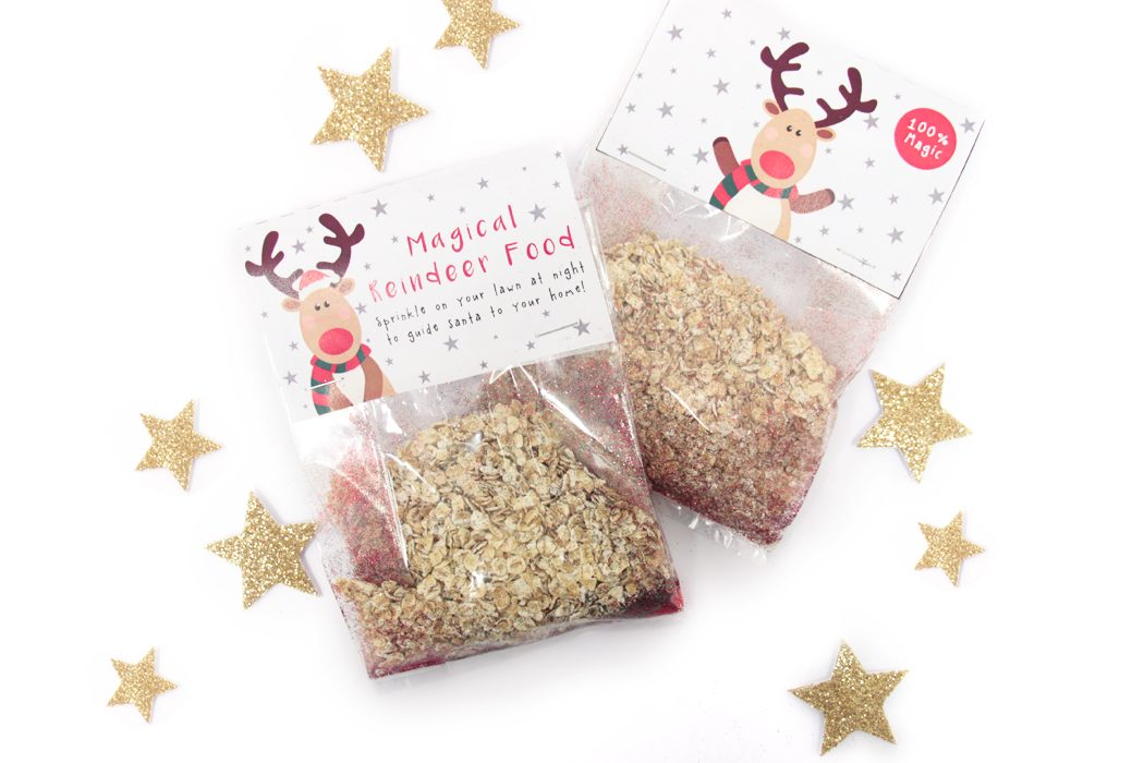 image regarding Reindeer Food Labels Printable identified as Magic Reindeer Meals Recipe + Totally free Printable Labels Occasion