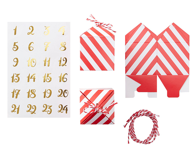 Make Your Own Advent Calendar - What You Need