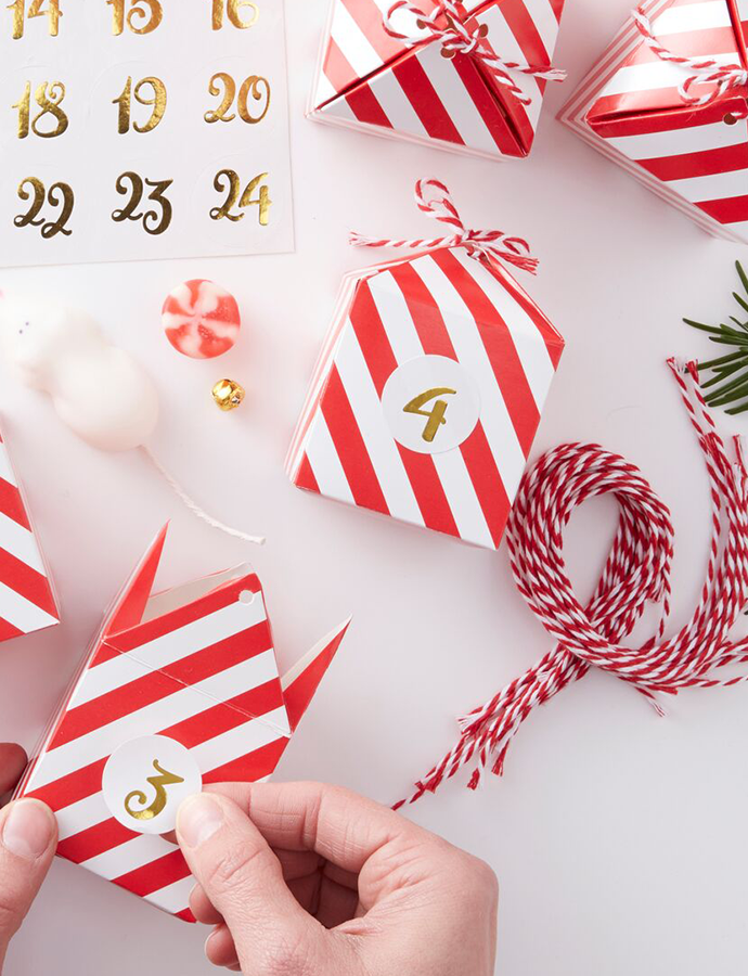 Personalised Advent Calendar Boxes