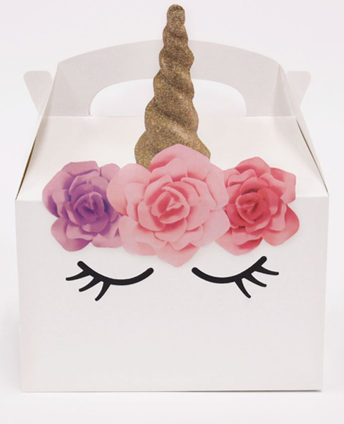 Pink & Purple Unicorn Party Box
