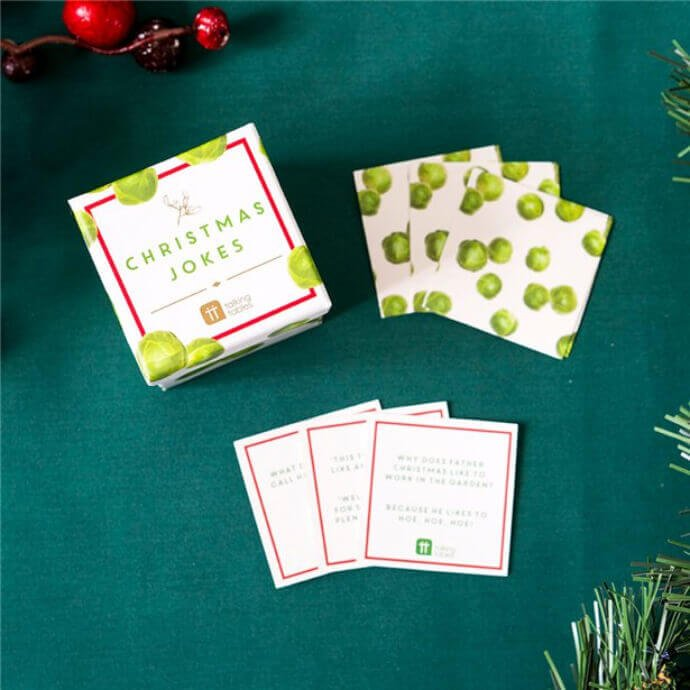 Christmas sprout bad jokes for the joker in your family
