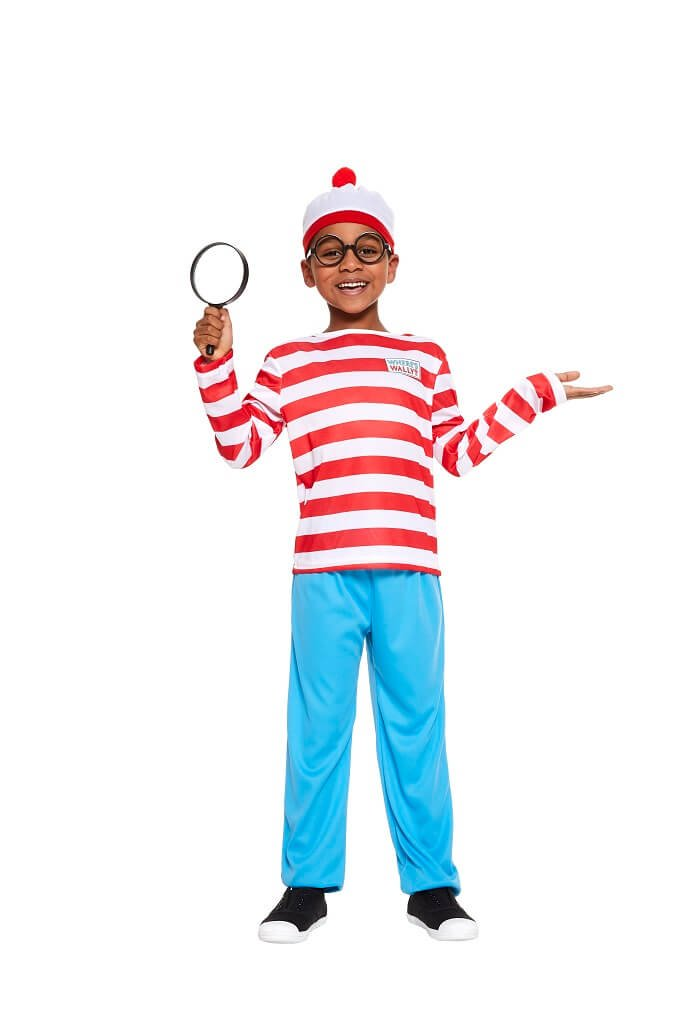 Where's Wally World Book Day costume
