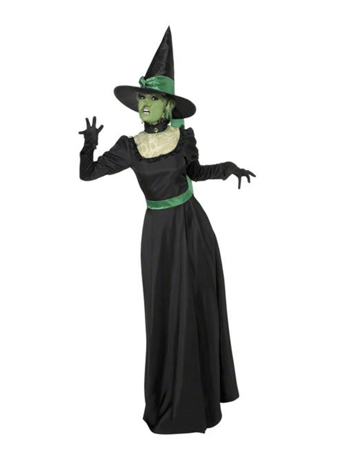 Witch fancy dress costume