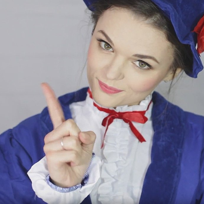 Easy Mary Poppins Make-Up Tutorial
