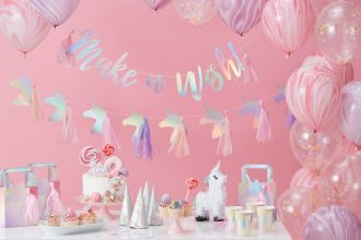 Iridescent Unicorn Party Ideas
