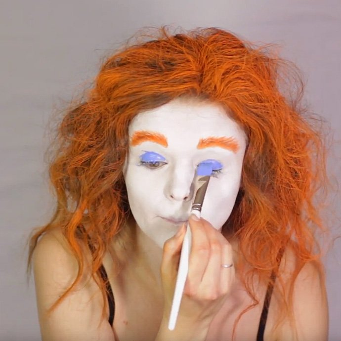 Mad Hatter Make-Up Tutorial 4