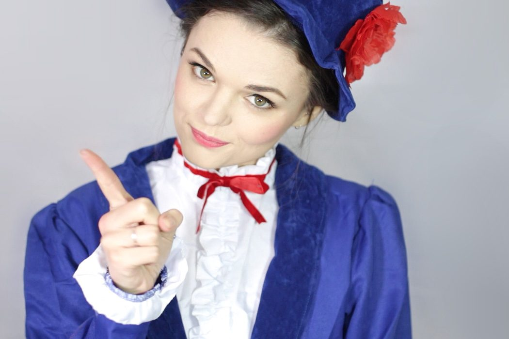 Mary Poppins Make-Up Tutorial