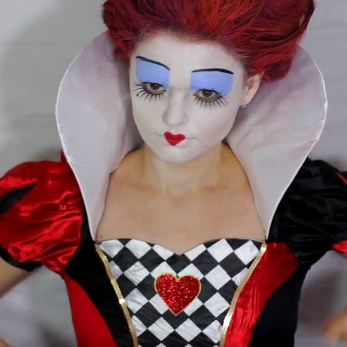 Queen of Hearts Make-Up Tutorial