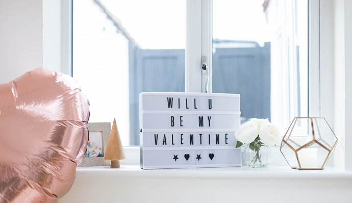 Valentine's Day Light Box