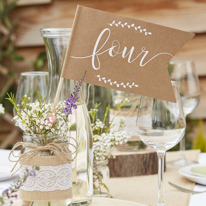 Inspiration for Rustic Wedding Table Decorations