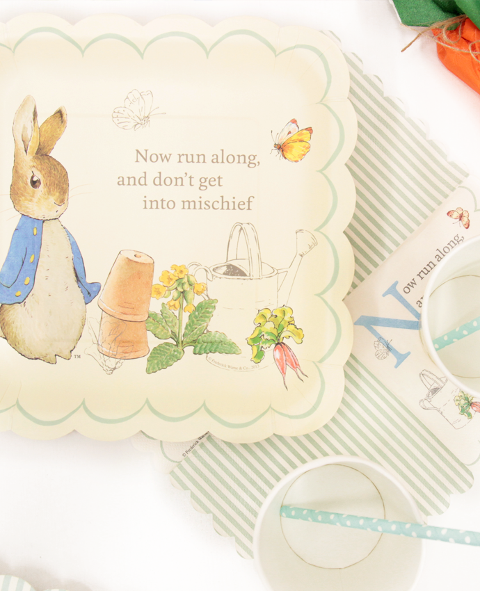 Peter Rabbit Party Plates
