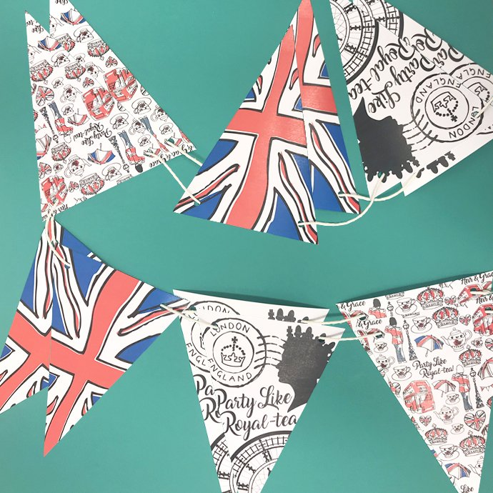 Free Printable Royal Wedding Bunting