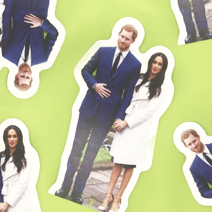 Harry & Meghan Cardboard Cutouts