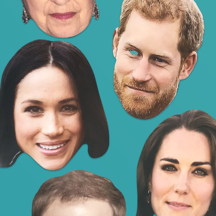 Royal Family Masks